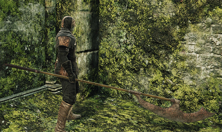 Scythe weapon from DS2