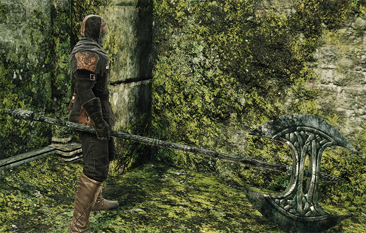 Old Knight Halberd in DS2
