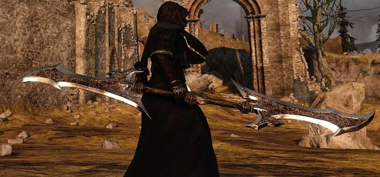Twinblade reskin character in Dark Souls 2