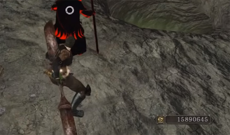 Red Iron Twinblade from Dark Souls 2