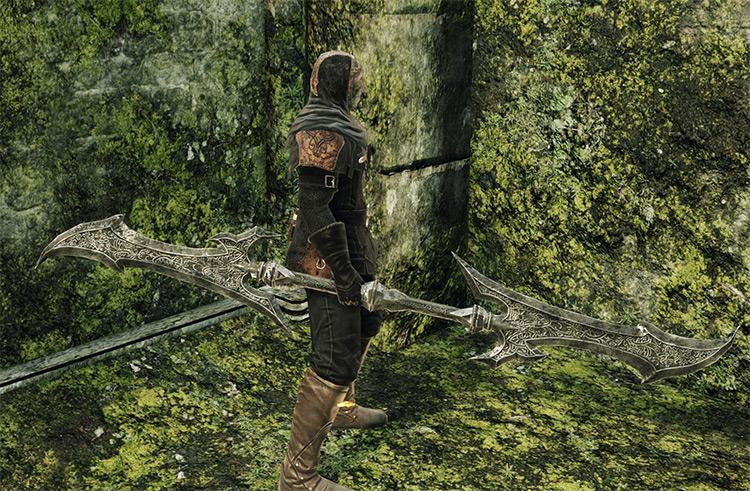 Dragonrider Twinblade in Dark Souls 2