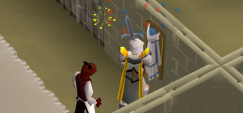 Mythical cape mounted in player house / OSRS HD