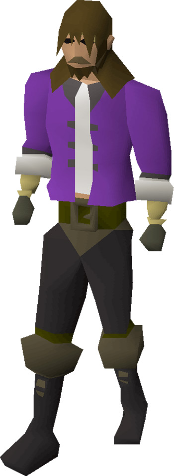 Barrows gloves equipped preview in OSRS