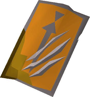 Anti-Dragon Shield item render in OSRS