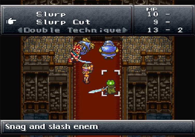Chrono Trigger SNES gameplay
