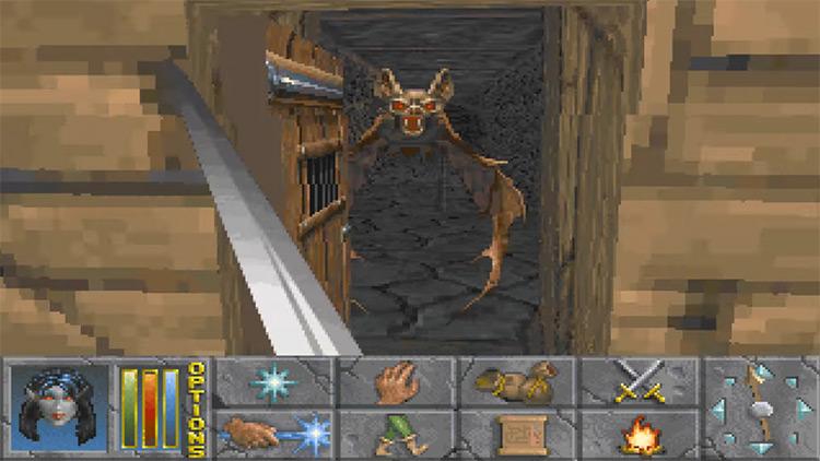 The Elder Scrolls 2: Daggerfall gameplay