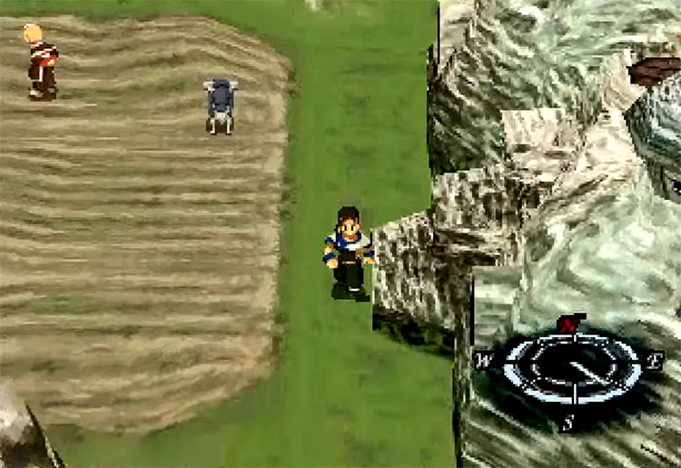 Xenogears gameplay PS1