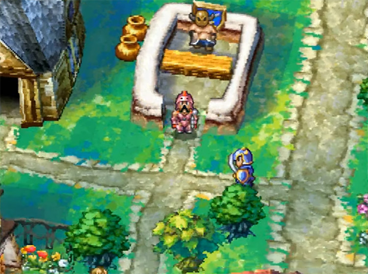 Dragon Quest IV: Chapters of the Chosen gameplay SNES