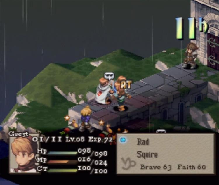 Final Fantasy Tactics game screenshot