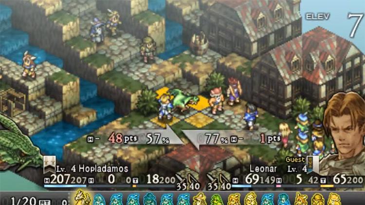 Tactics Ogre: Let Us Cling Together screenshot