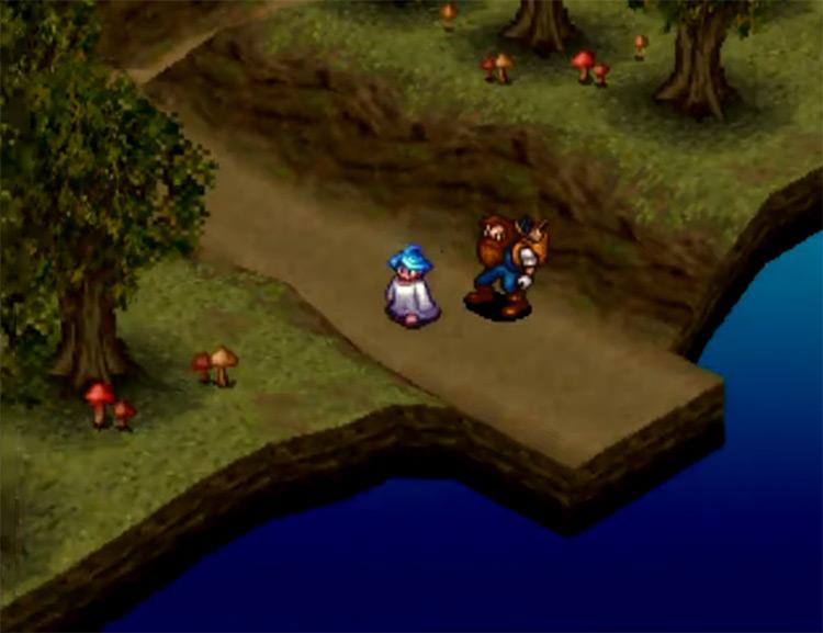 Breath of Fire III gameplay screenshot