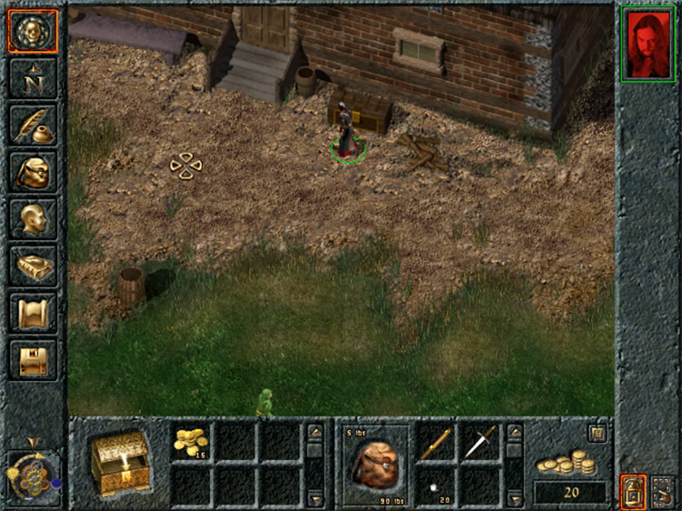 Baldur's Gate screenshot