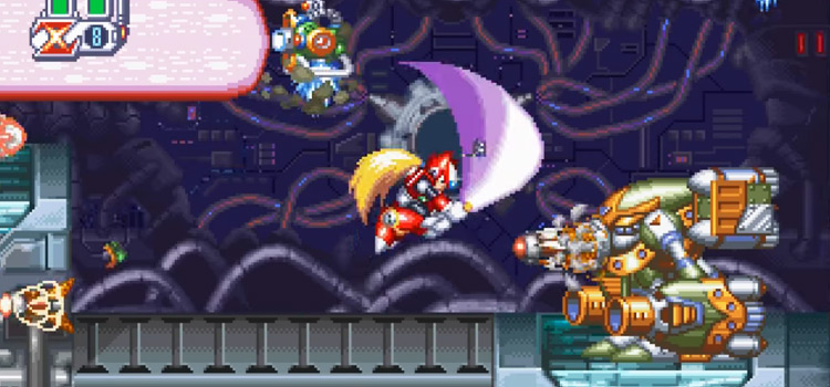 Mega Man x4 gameplay screenshot preview