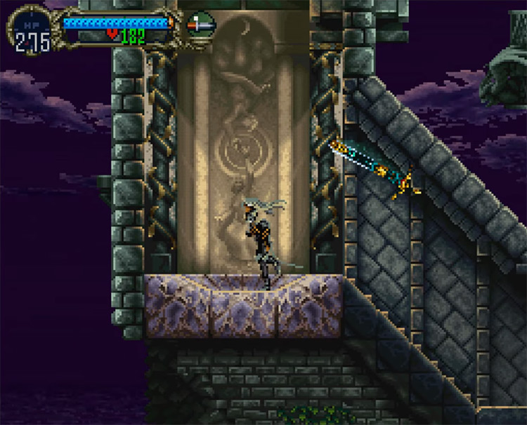 Castlevania: Symphony of the Night PSX gameplay