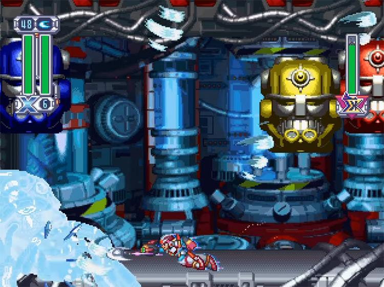 Mega Man X4 PS1 screenshot
