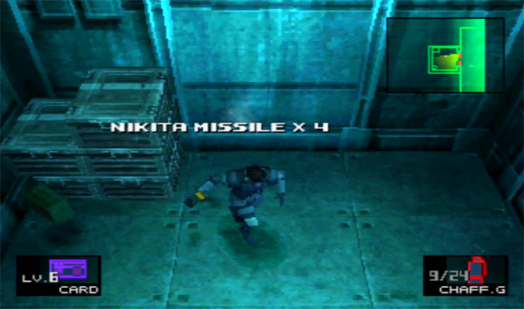 Metal Gear Solid PSX gameplay