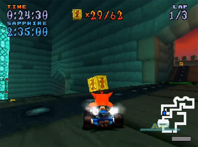Crash Team Racing PS1 screenshot