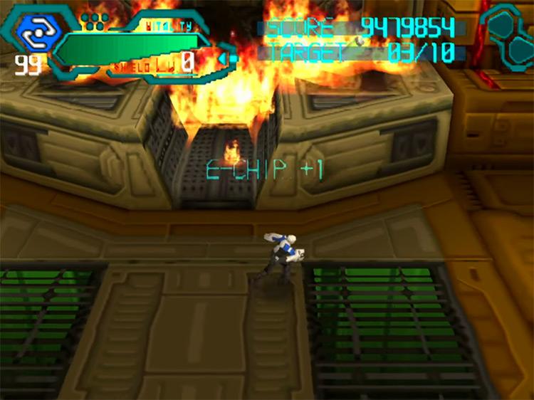 Silent Bomber PSX gameplay