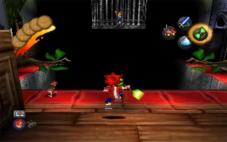 Ape Escape PS1 screenshot