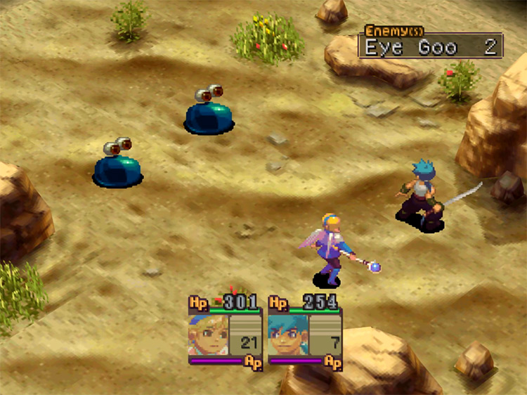 Breath of Fire IV gameplay on PSX