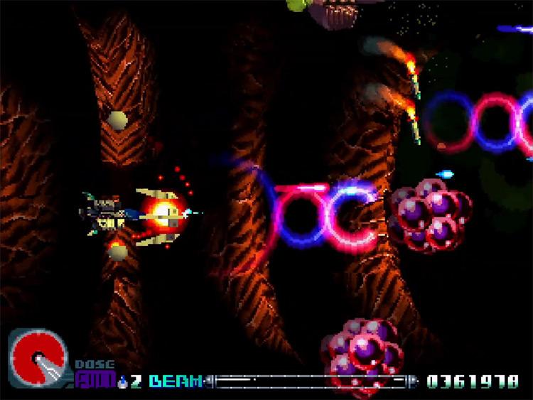 R-Type Delta gameplay