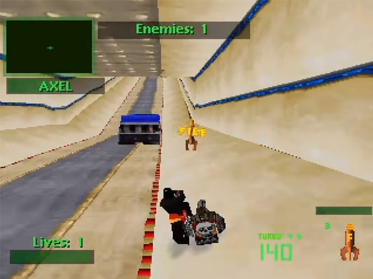 Twisted Metal 2 gameplay