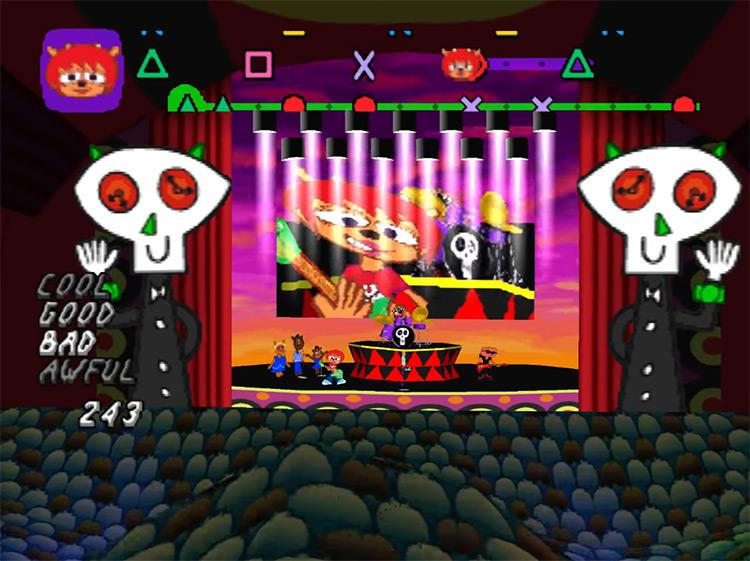 Um Jammer Lammy gameplay on PSX
