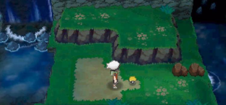 Pokemon Omega Ruby TM location screenshot