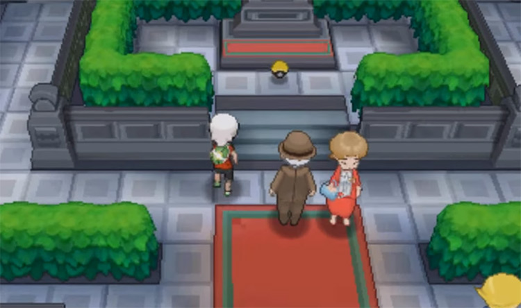 TM30 Shadow Ball location on Mt Pyre in Pokemon ORAS