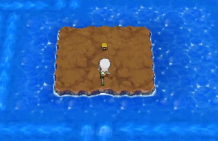 TM55 location in the sea in Pokemon ORAS