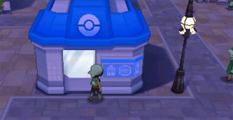 TM54 outside Poke mart in Pokemon ORAS