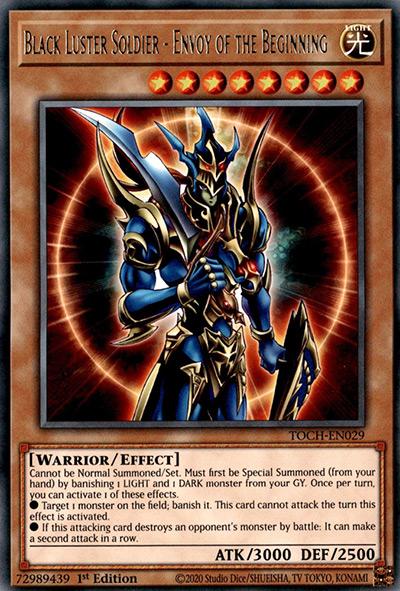 Black Luster Soldier – Envoy of the Beginning YGO Card