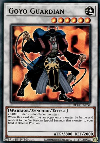 Goyo Guardian YGO Card