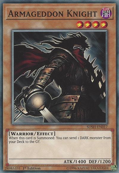Armageddon Knight YGO Card