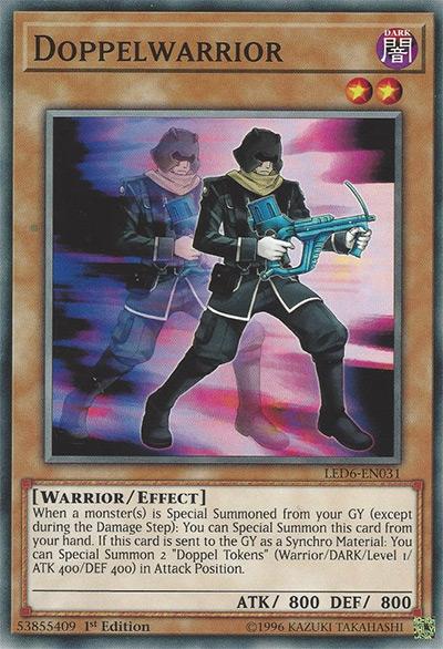 Doppelwarrior YGO Card