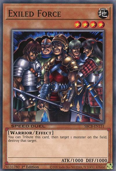 Exiled Force Yu-Gi-Oh Card