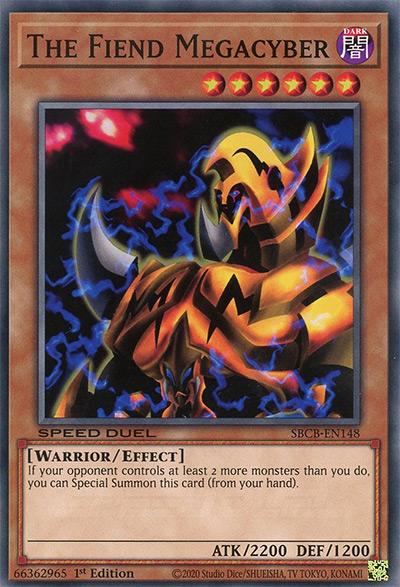 The Fiend Megacyber Yu-Gi-Oh Card