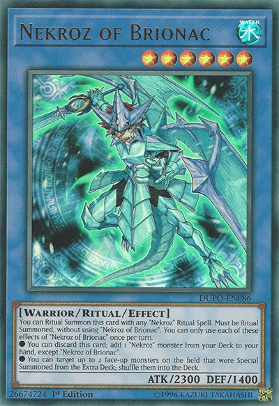 Nekroz of Brionac YGO Card