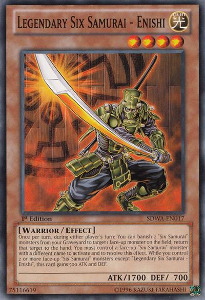 Legendary Six Samurai – Shi En Yu-Gi-Oh Card