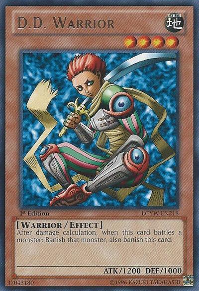D.D. Warrior YGO Card