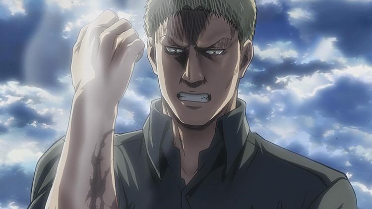 Reiner Braun from Attack on Titan anime