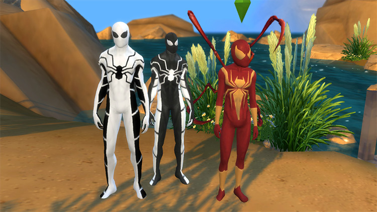 Spider-Man Costume Collection TS4 CC