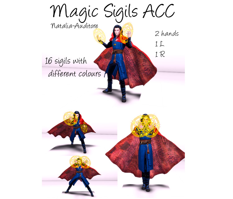 Magic Sigils modset for The Sims 4
