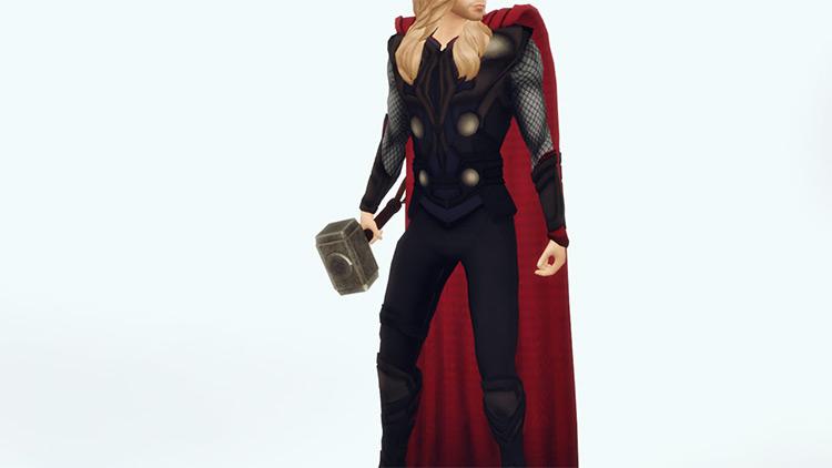 Thor Costume Sims 4 CC