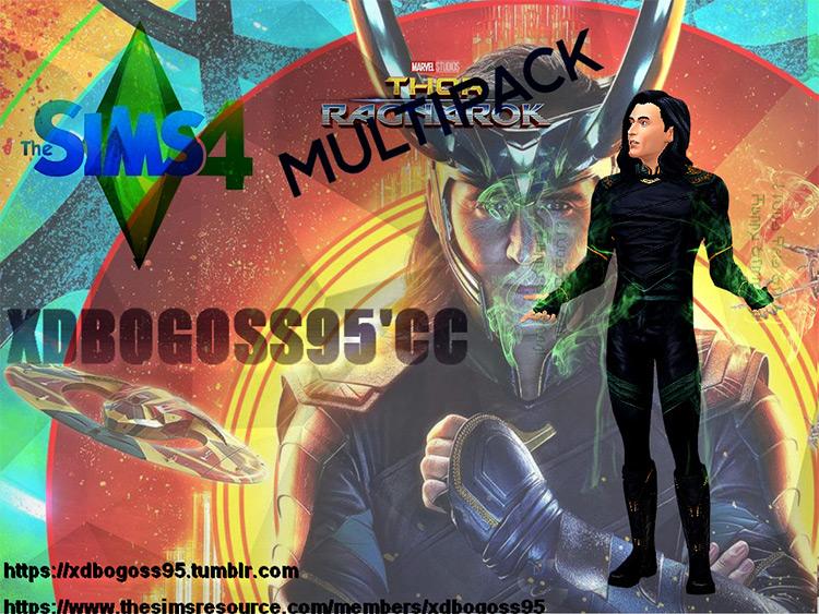 Loki Costume for Sims 4