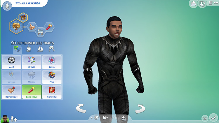 Black Panther Sims 4 CC