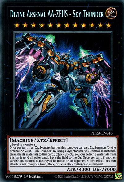 Divine Arsenal AA-Zeus – Sky Thunder YGO Card