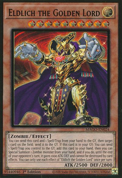 Eldlich The Golden Lord Yu-Gi-Oh Card