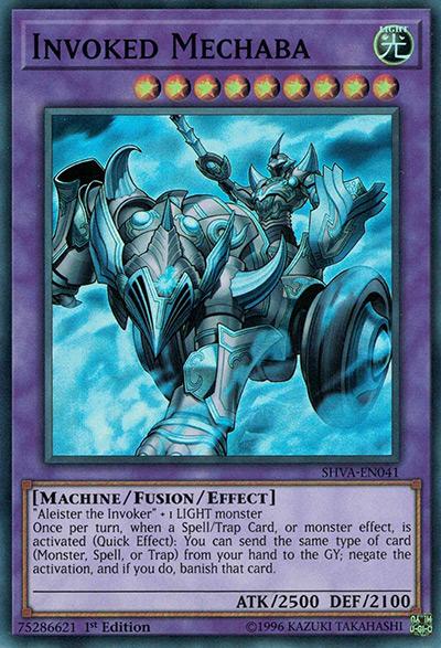 Invoked Mechaba YGO Card