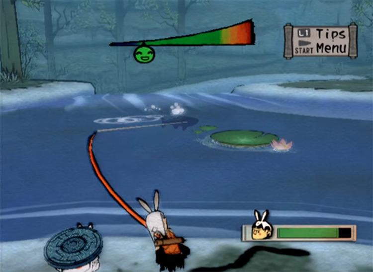 Okami PS2 gameplay